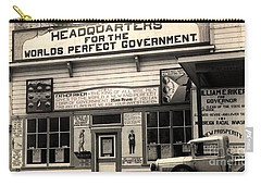 Holy City World Government Santa Clara County California 1938 Carry-all Pouch