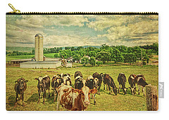 Holy Cows Carry-all Pouch by Lewis Mann