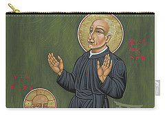 Holy Father Pedro Arrupe, Sj In Hiroshima With The Christ Child 293 Carry-all Pouch