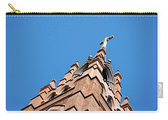 Huguenot Church Carry-all Pouch by Ed Waldrop