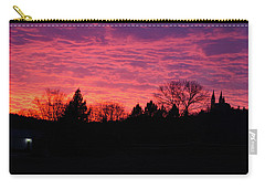 Carry-all Pouch featuring the photograph Holy Hill - Gloom To Color by Janice Adomeit