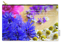 Sacred Manuscript Of Nature Carry-all Pouch