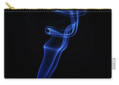 Carry-all Pouch featuring the photograph Holy Smoke by Bryan Carter