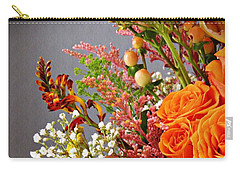 Carry-all Pouch featuring the photograph Holy Week Flowers 2017 2 by Sarah Loft