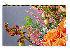 Carry-all Pouch featuring the photograph Holy Week Flowers 2017 3 by Sarah Loft