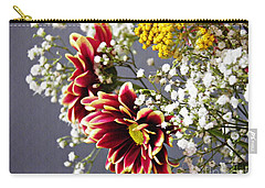 Carry-all Pouch featuring the photograph Holy Week Flowers 2017 5 by Sarah Loft
