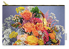 Carry-all Pouch featuring the photograph Holy Week Flowers 2017 by Sarah Loft