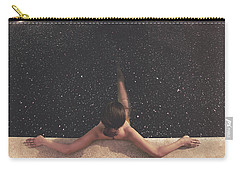 Beautiful Woman Carry-All Pouches