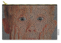 Home Alone Script Mosaic Carry-all Pouch
