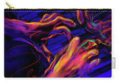 Carry-all Pouch featuring the painting Home At Last by DC Langer