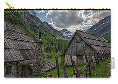 Carry-all Pouch featuring the photograph Home In The Slovenian Alps #2 by Stuart Litoff