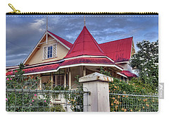 Home In The Tropics Carry-all Pouch by Nadia Sanowar
