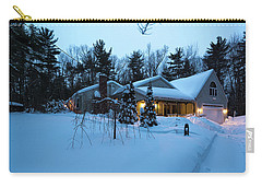 Home In Winter Carry-all Pouch