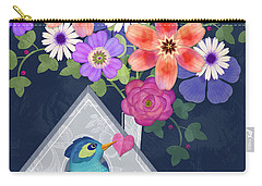 Home Is Where You Bloom Carry-all Pouch