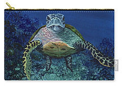 Carry-all Pouch featuring the painting Home Of The Honu by Darice Machel McGuire