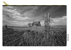 Carry-all Pouch featuring the photograph Home On The Range  by Aaron J Groen