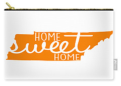 Carry-all Pouch featuring the digital art Home Sweet Home Tennessee by Heather Applegate