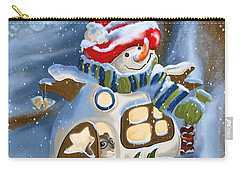 Carry-all Pouch featuring the painting Home Sweet Home by Veronica Minozzi