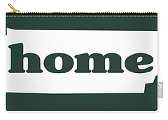 home TN on Green Carry-all Pouch by Heather Applegate