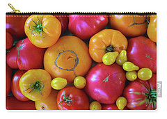 Homegrown Heirloom Tomatoes Carry-all Pouch