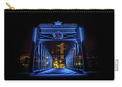 Homeless Winter Night On Wells Street Bridge - Fort Wayne Indiana Carry-all Pouch