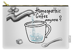 Homeopathic Coffee Carry-all Pouch by Ivana Westin