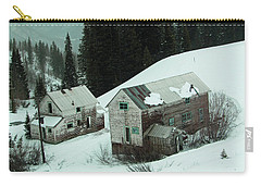 Homes In The Valley Carry-all Pouch