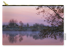 Carry-all Pouch featuring the photograph Hometown Sunrise by Lynn Hopwood