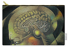 The Anxiety Of Knowledge Carry-all Pouch