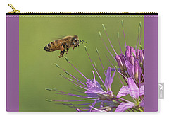 Honey Bee At Work Carry-all Pouch