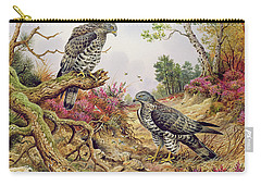 Honey Buzzards Carry-all Pouch by Carl Donner