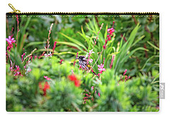 Carry-all Pouch featuring the photograph Honey Eater, Bushy Lakes by Dave Catley