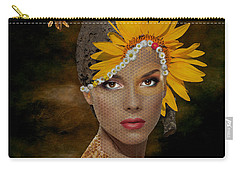 Carry-all Pouch featuring the digital art Honey by Nola Lee Kelsey