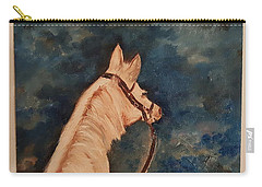 Honey Palomino Horse 28 Carry-all Pouch