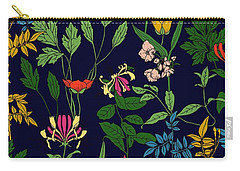 Honeysuckle Floral Carry-all Pouch