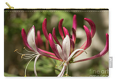 Honeysuckle Flower Carry-all Pouch