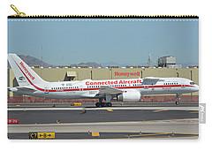 Honeywell Boeing 757-225 N757hw Phoenix Sky Harbor September 30 2017 Carry-all Pouch