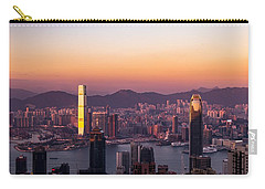 Hong Kong At Sunrise Stories From The Road Series 002 Carry-all Pouch