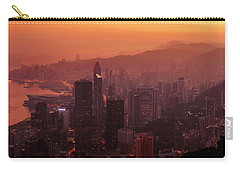 Hong Kong City View From Victoria Peak Carry-all Pouch