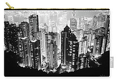 Hong Kong Nightscape Carry-all Pouch by Joseph Westrupp