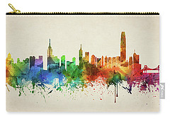 Hong Kong Skyline Chhk05 Carry-all Pouch by Aged Pixel