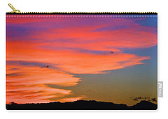 Carry-all Pouch featuring the photograph Honolulu Sunset by Lehua Pekelo-Stearns