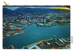 Honolulu Waterfront At Dawn Carry-all Pouch