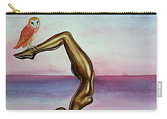 Honoring Owl Carry-all Pouch by Steed Edwards