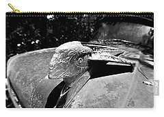 Hood Ornament Detail Carry-all Pouch