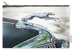 Hood Ornament Ford Carry-all Pouch by Theresa Tahara