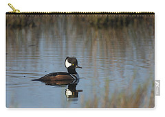 Hooded Merganser In The Early Morning Light Carry-all Pouch