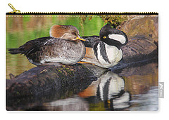 Hooded Merganser Pair Carry-all Pouch