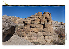 Carry-all Pouch featuring the photograph Hoodoo Stack by Fran Riley