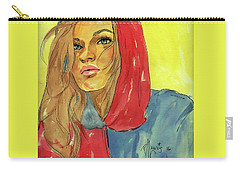Hoody Carry-all Pouch by P J Lewis